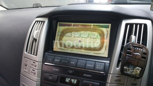 Toyota Harrier MID LCD Fix